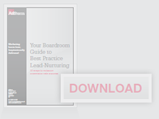 Download Your Boardroom Guide to Best Practice Lead-Nurturing