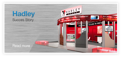Hadley Steel Framing Exhibition